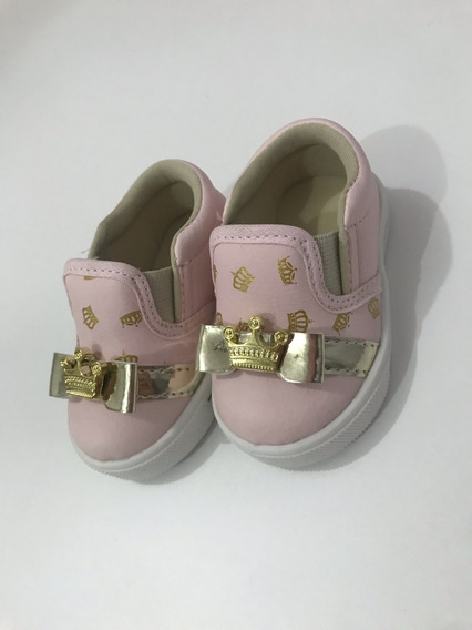 Slip On Princess Infantil Feminino Linda Jú Promoção