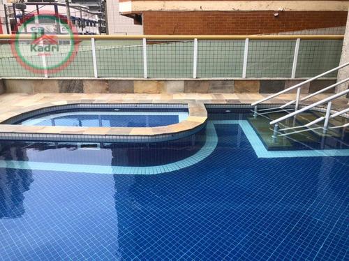 Imagem 1 de 30 de Apartamento Com 2 Dormitórios À Venda, 81 M² Por R$ 330.000,00 - Tupi - Praia Grande/sp - Ap5379