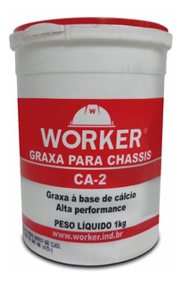 Graxa Para Chassis Alta Performance Worker 1kg Trator
