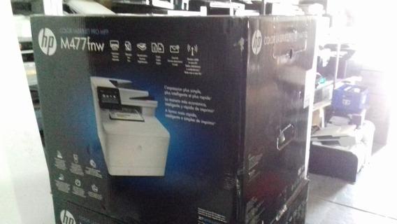 Impressora Mfp Hp M477fnw - Revisada C/garantia