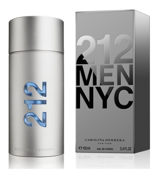 212 Men De Carolina Herrera Edt 100 Ml.