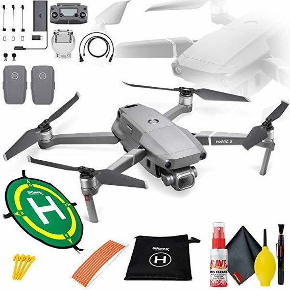 Camara Mavic Pro 2 Drone Bundle Landing Pad Flight Batteri ®
