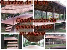 Construccion De Quinchos, Pergolas, Sombrillas