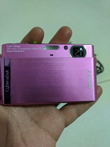 Câmera Digital Sony Cyber Shot T90 Menu Em Japonês! + Sd16gb