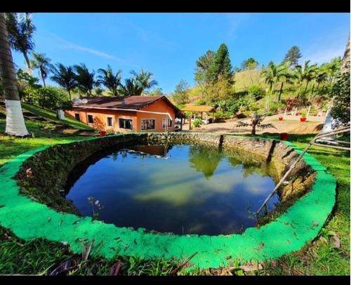 Imagem 1 de 14 de Sitio Ibiuna 42.000 Mts 2 Casas, Piscina, Área Para Plantar