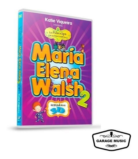 Los Videoclips De María Elena Walsh Vol. 2 (dvd) - Ya Musica