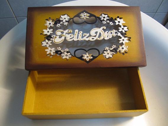 Caja Artesanal Para Te/caramelos/bijouterie