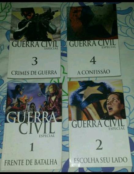 Marvel Guerra Civil - Coleção Completa