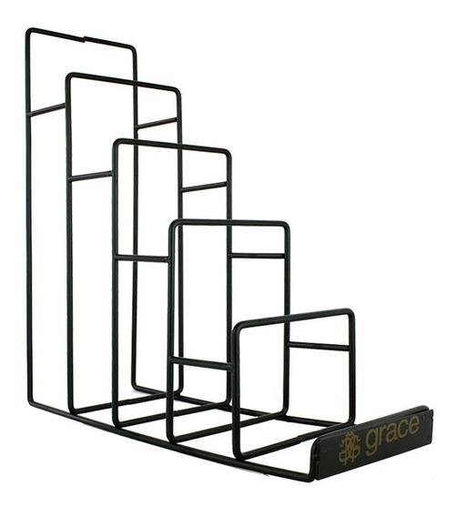 Exhibidor Metálico / Carteras / Grande / Paquete Doble