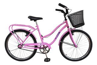 Bicicleta Playera Rodado 24 Full Dama // Richard Bikes