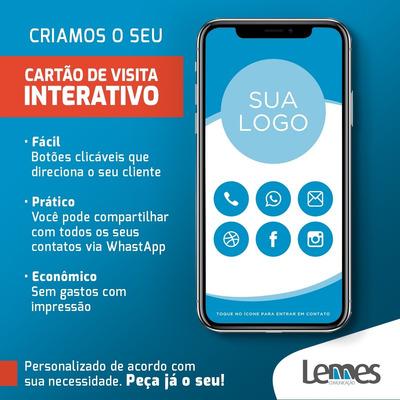 Cartão De Visita Digital Interativo (smart Card)
