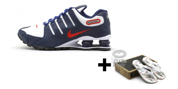 Tênis Nike Shhox Nz Mais Chinelo Reserve