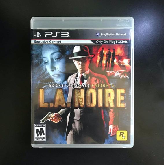 L.a Noire Original Completo Excelente Estado Ps3