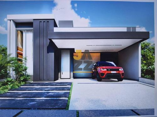 Casa À Venda, 186 M² Por R$ 990.000,00 - Condomínio Piemonte - Indaiatuba/sp - Ca12702