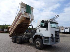 Caminhão Basculante Caçamba Vw 26.260 6x4 Ano 2010