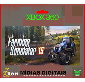Farming Simulator 15 - Xbox 360 - Mídia Digital