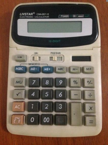 Calculadora Eletrônca Livstar Cnn-957-12