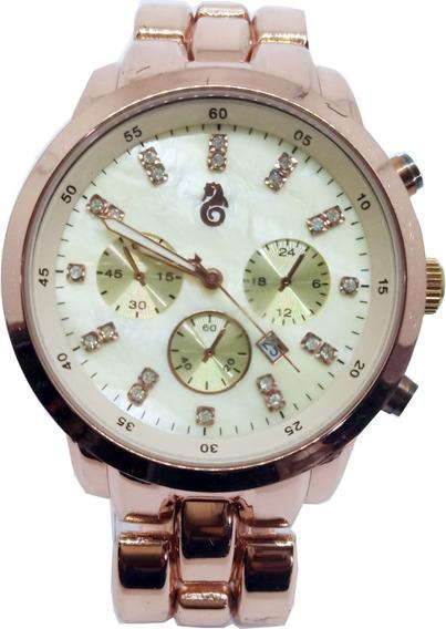 Relógio Atlantis Feminino Rosê B650g