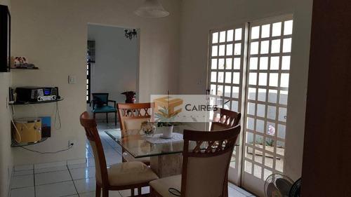 Casa Com 2 Dormitórios À Venda, 130 M² Por R$ 480.000,00 - Jardim São Gonçalo - Campinas/sp - Ca3149