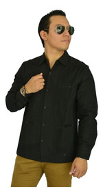 Camisa Guayabera Yucateca Presidencial Lino _cfkkkprsmlesp