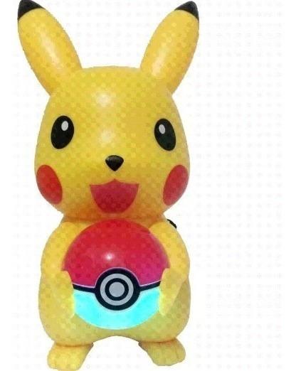 Caixa Pokémon Led Bluetooth Sd Rádio Mp3 Pen Drive
