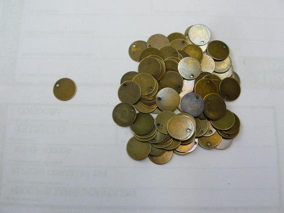 Monedas Bronce P/caderines Danzas Diámetro 12 - X 100 Unid