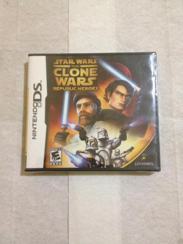 Imagen 1 de 2 de Star Wars The Clone Wars: Republic Heroes Ds Nuevo Sellado