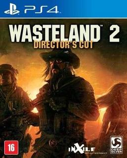 Wasteland 2: Directors Cut Ps4 Mídia Física Novo Rcr Games