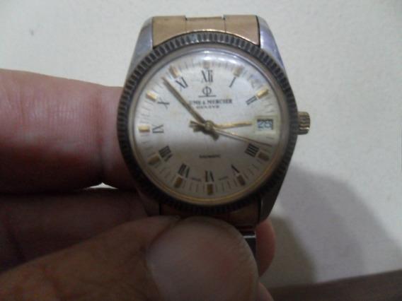 Relógio De Pulso Baume&mercier Baumatic Swiss Funcionando
