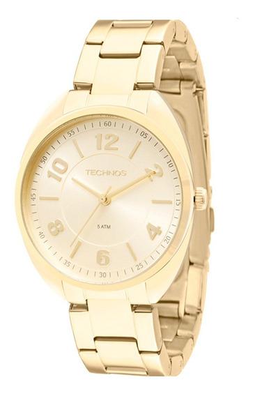 Relógio Technos Feminino Elegance 2035mcf/4x Dourado