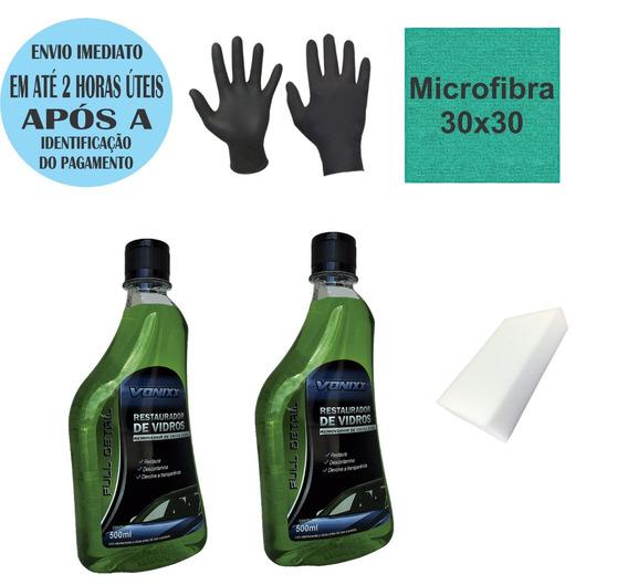 2x Restaurador Removedor Chuva Acida Vonixx 500 Ml + Brindes