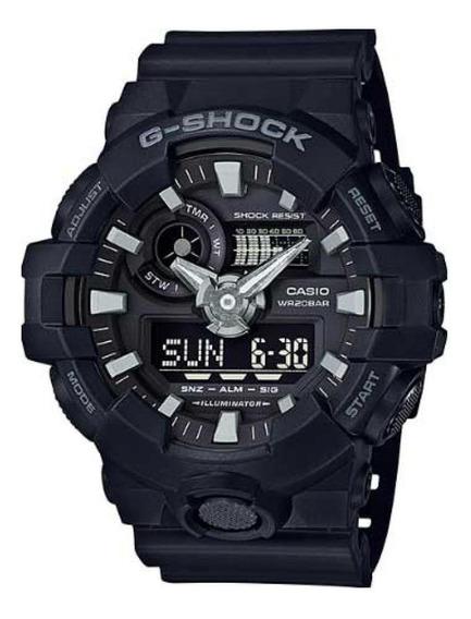 Relogio Casio G-shock Ga-700-1bdr (original+nota Fiscal)