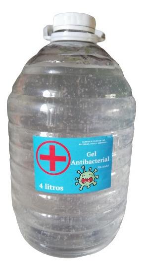 Gel Antibacterial A Granel Galón 4 Litros