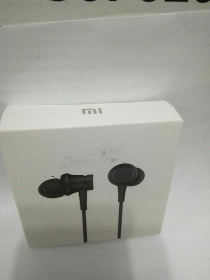 Fone Xiaomi In-ear Headphones Basic Preto Lacrado