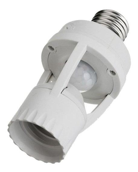 Sensor Presença Com Fotocélula Lâmpada Timer Soquete E27