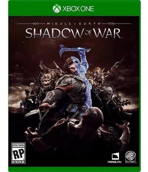 Game Sombras Da Guerra Xbox One Shadow Of War Midia Fisica