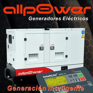 Grupo Generador Cummins 110kva Cabinado Generadores Allpower