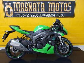 Kawasaki Ninja Zx 6r - 2011 - Verde - Km 22 000