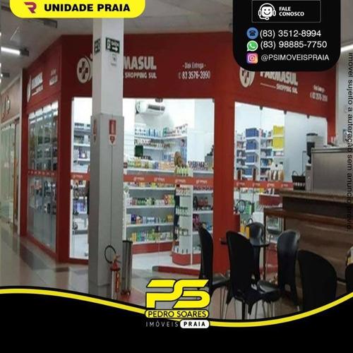 Repasse De Ponto, 67 M² Por R$ 75.000 - Bancários - João Pessoa/pb - Pt0070