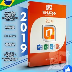 Office 2019 Pt-br 32/64 Bits