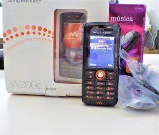 Remate Celulares Sony Ericsson W Retro W200 Nvo Exhibision