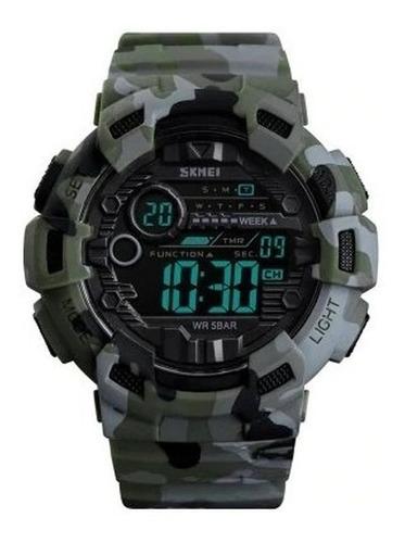 Reloj Skmei 1472 Cronometro Fecha Alarma 2 Horarios