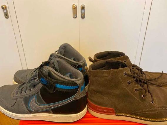 Zapatillas Botitas Nike Y Zapatos Lacoste