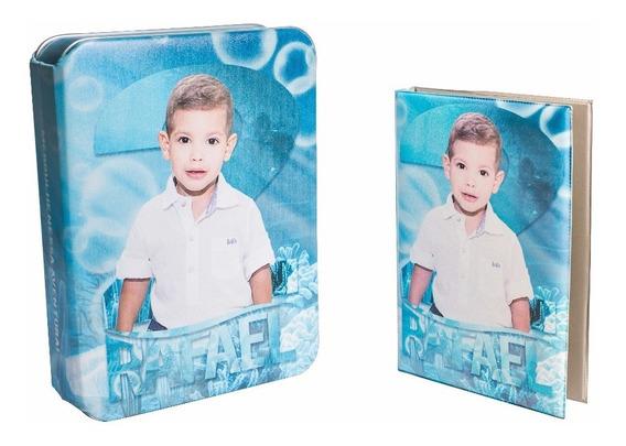 Album Fotografico E Estojo 10x15 Personalizado Foto Tema 300