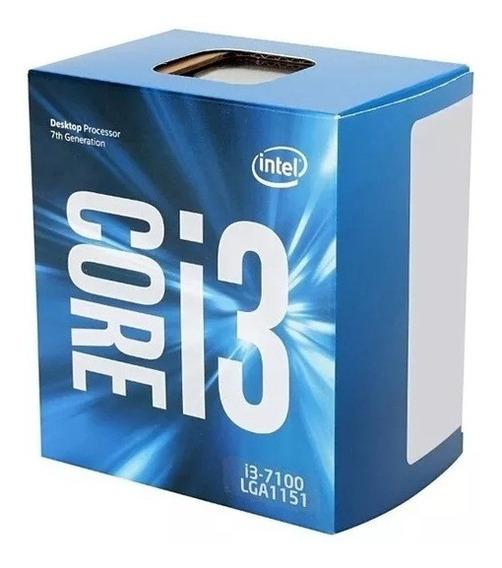 Processador Intel Core I3-7100 Kaby Lake, 3.9ghz, Lga 1151