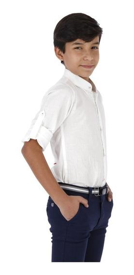 Camisa Casual Niño - Lino Mao
