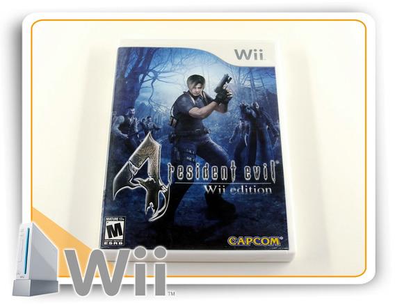 Resident Evil 4 Wii Edition Nintendo Wii Original