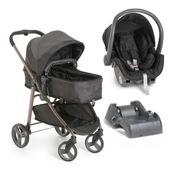 Carrinho Bebê Galzerano Olympus Com Bebê Conforto E Base