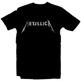 Playeras Metallica Rock - 15 Modelos Disponibles!!!