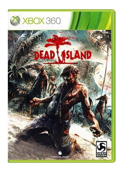 Dead Island - Xbox 360 - Usado - Original - Midia Física